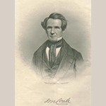"Fig. 24: Portrait of James McSherry Coale by an unknown artist/engraver reproduced in ""Portraits of Eminent Americans Now Living"" by John Livingston (1854). Private collection."
