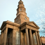 Fig. 19: St. Philip's Church (third structure, completed 1838), Charleston, SC. Photography by the author.