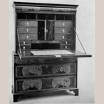 Fig. 5: Writing Cabinet; England; 1690-1700. MESDA slide catalog.