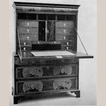Fig. 5: Writing Cabinet; England; 1690-1700. MESDA slide catalog.