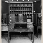 Fig. 9: Interior of the estate cabinet presented in Fig. 8.