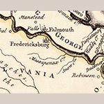 Fig. 11: Detail from the August 1753 (State 1) Fry and Jefferson map (Figure 1).