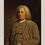 "Fig. 17: ""Robert Dinwiddie"" by an unknown artist, 1760-1765, England. Oil on canvas; HOA: 29-3/4"", WOA: 25"". National Portrait Gallery, London, NPG 1640. © National Portrait Gallery, London."