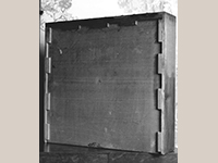 Fig. 34: Drawer bottom from the sideboard illustrated as Fig. 6.