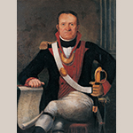 "Fig. 3: Portrait of Jacob Sass attributed to Thomas Coram, 1789 or 1805, Charleston, SC. Oil on canvas; HOA: 37-1/8"", WOA: 28-7/16"". German Friendly Society, Charleston, SC. Photograph by Gavin Ashworth, NYC."
