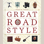 "Fig. 2: Dust jacket of ""Great Road Style"" by Betsy White (2006)."