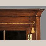 Fig. 9: Detail of inlay on the corner cupboard illustrated in Fig. 6.
