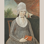 "Fig. 23: ""Eleanor Magrudedr Briscoe"" by John Drinker, 1800–1802. Oil on canvas; HOA: 31-1/2"", WOA: 25-1/2"". MESDA Collection, Acc. 973.2."