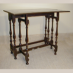 Fig. 12: Lady's writing table, ca. 1700, England. Oak. Photograph courtesy Fiske & Freeman, Ipswich, Massachusetts.