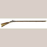 Fig. 7: Rifle made by Jacob Young for William Whitley, 1795–1800, Sumner Co., TN. Collection of the William Whitley House State Historic Site, Stanford, KY.