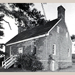 Fig. 2: Charlton-Jordan House, 1738, Bertie Co., NC. Photograph courtesy North Carolina State Historic Preservation Office, Office of Archives and History, Department of Natural and Cultural Resources, Raleigh, NC.