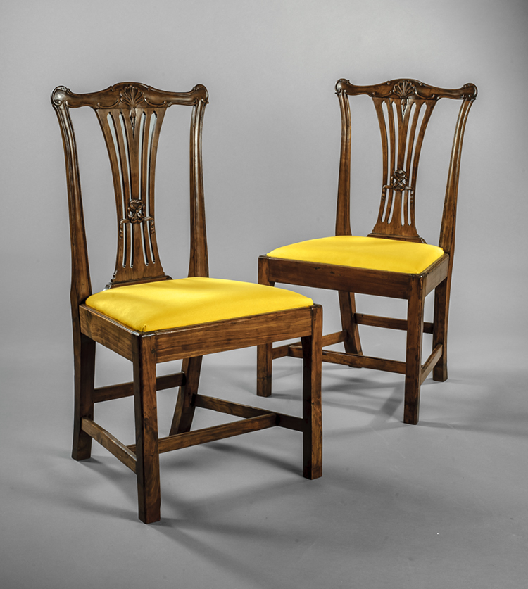 17 Pair Of Side Chairs Attributed To Thomas Miller Ca 1774