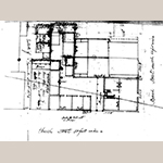 Fig. 34: Plat of the Benjamin Smith House. John McCrady Plat Collection, Plat #557, Charleston County Register Mesne Conveyance, Charleston, SC.