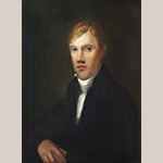 Fig. 1: Portrait of Willis Cowling by an unknown artist, 1810-1820, Richmond, VA. Private collection.