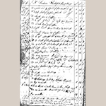 Fig. 34: Second page of Frederick Fentress account with Henry Macy, 1810–1816, Henry Macy Account Book, 1796–1821, Macy/Zimmerman Papers, MSS. Collection #141, Series 2, folder 4, Greensboro History Museum, Greensboro, NC.