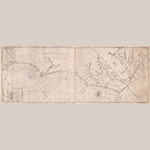 "Fig. 8: ""…actual survey of the sea coast and inland navigation from Cape Henry to Cape Roman…,"" Jonathan Price and John Strother (surveyors), William Johnston (engraver), William Johnston and Francois Xavier Martin (printers), 1798, New Bern, NC. Ink on paper; HOA: 37 cm, WOA: 98 cm. Library of Congress, Geography and Map Division, Washington, DC, G3902.C6 1798 .P7 Vault. Online: http://www.loc.gov/item/2006629747/ (accessed 27 May 2014)."