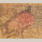 Fig. 17: Detail of Wilkes County (from the copy of the map at the North Carolina State Archives, Raleigh, VC912 1808p. Online: http://dc.lib.unc.edu/cdm/singleitem/collection/ncmaps/id/1210/rec/2 [accessed 27 May 2014]).