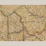 Fig. 26: Detail of Glasgow County (from the copy of the map presented as Fig. 1).