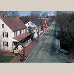 Fig. 16: Main Street in Salem, NC, looking north toward Winston, ca. 2000.