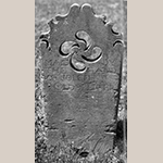 Fig. 8: Reverse of the gravestone in Fig. 7.