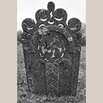 Fig. 19: Reverse of the gravestone in Fig. 18.