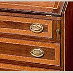Fig. 46: Detail of the desk in Fig. 40.