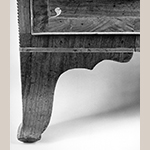 Fig. 60: Detail of the desk in Fig. 58.