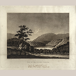 "Fig. 2: ""View on the Potomac, Virginia,"" after William Roberts (1762–1809), 1810, engraved by Joseph Jeakes (1788–d.c.1829) and published by Colnaghi & Co., London, England. Aquatint; HOA: 15-1/4"", WOA: 19-3/4"". MESDA Acc. 3424.4; Gift of G. Wilson Douglas, Jr. and Douglas Battery Fund."