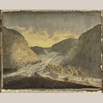 "Fig. 4: ""Junction of the Potomac and Shenandoah Rivers"" by William Roberts (1762–1809), ca. 1808. Watercolor, pencil, and ink on paper; HOA: 17-1/2"", WOA: 22"". MESDA Acc. 3424.1; Gift of G. Wilson Douglas, Jr. and Douglas Battery Fund."
