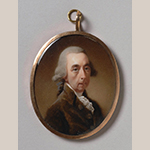 "Fig. 7: ""Joseph Galloway"" attributed to Joseph Daniel (1760–1803) or Abraham Daniel (d.1806), ca. 1790, England. Watercolor on ivory; HOA: 2-3/8"", WOA: 1-15/16"". Collection of the Philadelphia Museum of Art, Acc. 1966-20-3; Purchased with the John D. McIlhenny Fund, 1966."