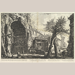 "Fig. 13: ""The Arch of Titus (Veduta dell'Arco di Tito)"" by Giovanni Battista Piranesi (1720–1778), ca. 1760, Rome, Italy. Etching; HOA: 15-15/16"", WOA: 24-5/16"". Collection of the Metropolitan Museum of Art, Acc. 64.521.4; Gift of Mrs. Alfred J. Marrow, 1964."