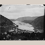 "Fig. 19: ""Harper's Ferry, West Virginia. View of Maryland Heights"" by James Gardner, 1865. Glass negative. Library of Congress Prints and Photographs Division, LC-B817-7133 [P&P] LOT 4164-G (corresponding photographic print), Library of Congress, Washington, DC."