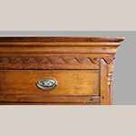Fig. 47: Detail of cornice on chest of drawers illustrated in Fig. 7 (MRF 11,647).