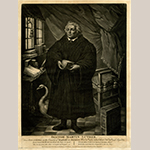 "Fig. 8: ""Doctor Martin Luther"" engraved by unknown engraver after Allan Ramsay, 1750–1780, England. Ink on paper; HOA: 338 mm; WOA: 246 mm. Collection of the British Museum, acc. 1902,1011.7266."