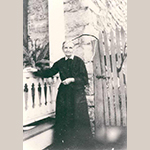 Fig. 16: Annie Hollingsworth (1844–1930), the last Hollingsworth family member to live at Abram's Delight; unknown photographer, 1910–1920. Collection of the Stewart Bell Jr. Archives, Hollingsworth Family Papers, no. 3-3a wfchs, Handley Regional Library, Winchester, VA.