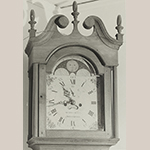 Fig. 73: Detail of the hood of the clock illustrated in Fig. 72.