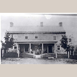 Fig. 95: Fawcett family homestead, ca.1797, near Fawcett Gap, Frederick Co., VA; unknown photographer and date; Collection of the Stewart Bell Jr. Archives, Frederick County 250th Anniversary Collection, no. 736-248 thl, Handley Regional Library, Winchester, VA.