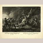 "Fig. 9: ""The Death of General Montgomery (1738–1775) at Quebec"" after John Trumbull (1756–1843), engraved by Christian Wilhelm Ketterlinus (1766–1803), published by Andrew Maverick (1782–1826), New York, 1808. Ink on paper; HOA: 14-11/16"", WOA: 19-15/16"". Library of Congress, 2003666949, Prints and Photographs Division (Washington, DC)."