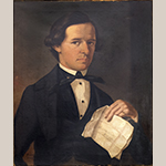 "Fig. 14: Portrait of Nathaniel Andrew Feaster (1820–1861) by George W. L. Ladd, c. 1844. Oil on canvas; HOA: 28-3/8"", WOA: 24-1/4"". Collection of the Fairfield County Museum, Winnsboro, SC."